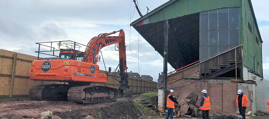 A stadium development update from St James Park, Exeter